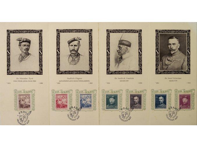 Pamětní list Sokolský slet 1948 (1)