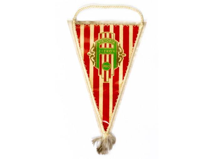 Klubová vlajka Viktoria Žižkov, malá