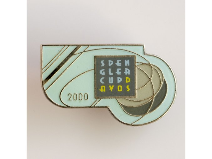 Odznak Spengler cup Davos 2000
