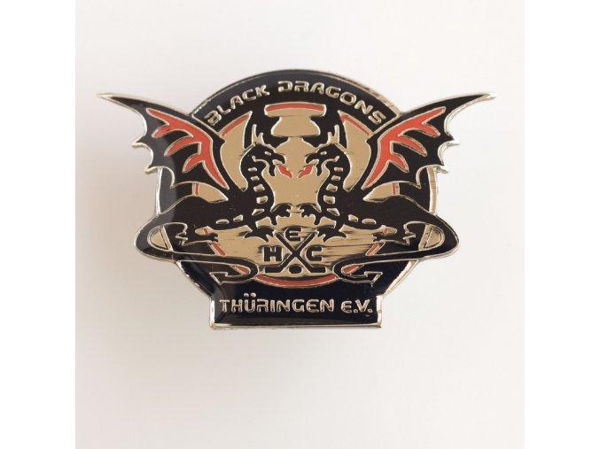 Odznak Black Dagons Thurengen S.V.