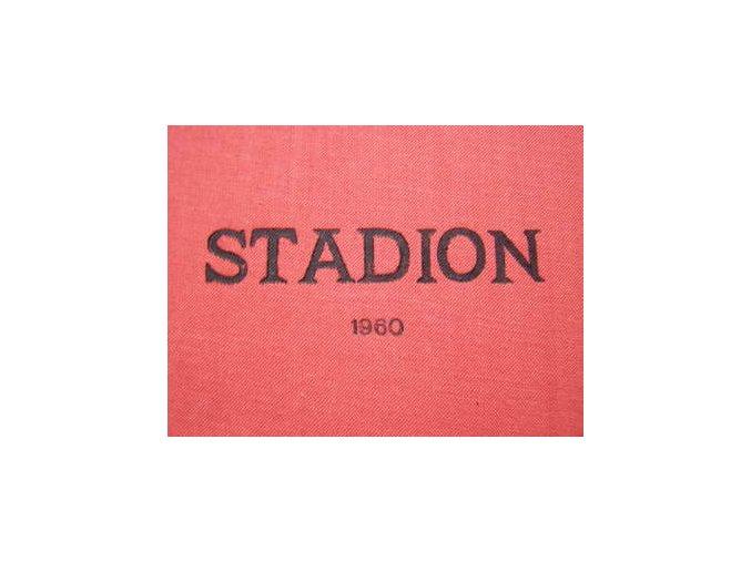 Kompletní svázaný časopis Stadion rok 1960 v tvrdé plátěnné vazbě
