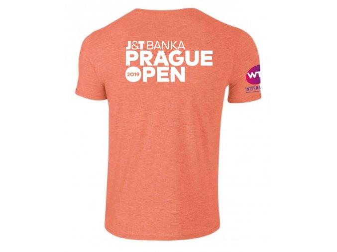 Tričko WTA 2019, Heather Orange