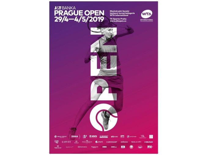 11Oficiální plakát WTA 2019, Šafářová Stránka 2