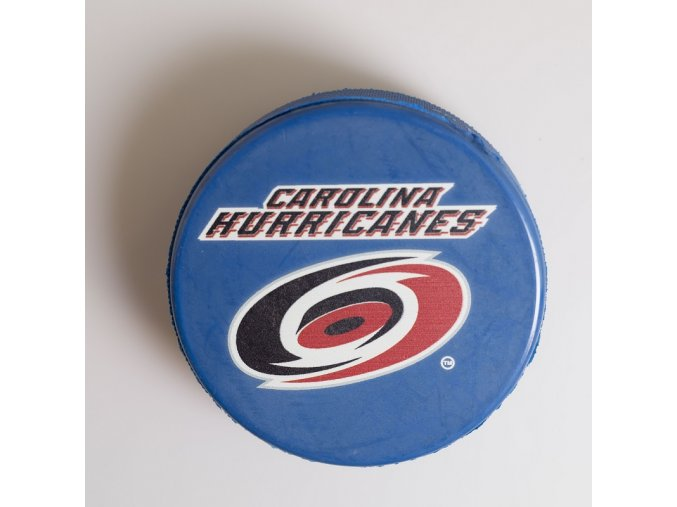 Puk Carolina Hurricanes Blue
