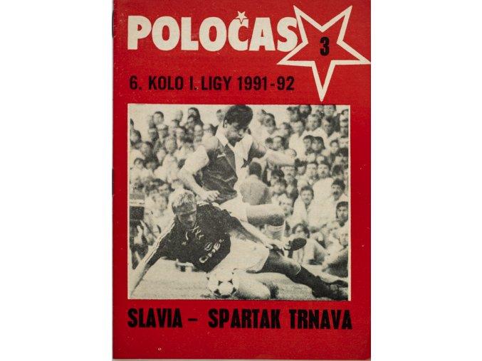 POLOČAS SLAVIA Praha vs. Spartak Trnava 1991 92