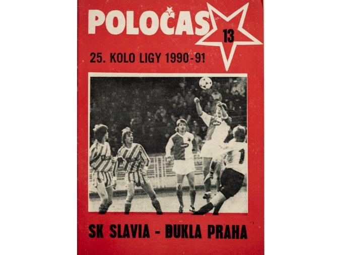 POLOČAS SLAVIA Praha vs. Dukla Praha, 1990 91