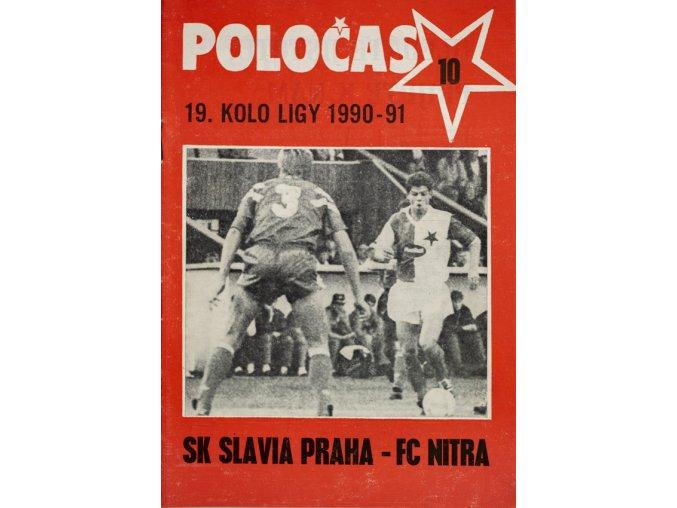 POLOČAS SLAVIA Praha vs. FC Nitra 1990 91 ( 10 )