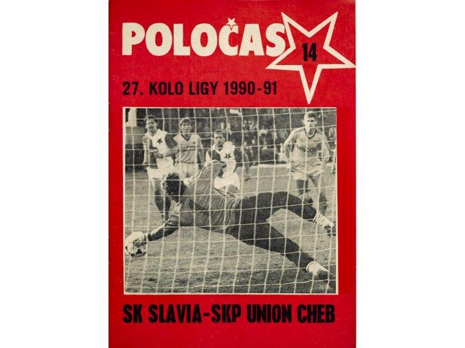 POLOČAS SLAVIA Praha vs. RH Cheb 1990 91