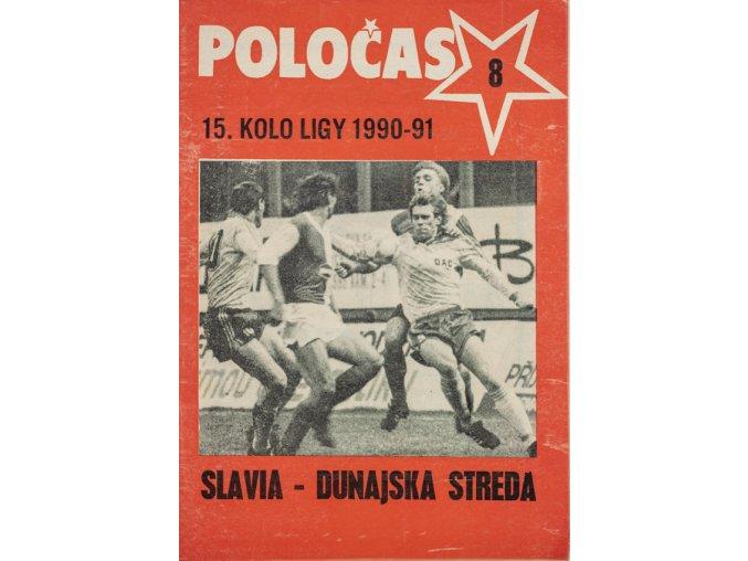 POLOČAS SLAVIA Praha vs. Dunajská Streda 1990 91