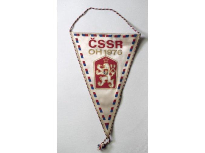 Vlajka klubová ČSSR OH 76 Montreal