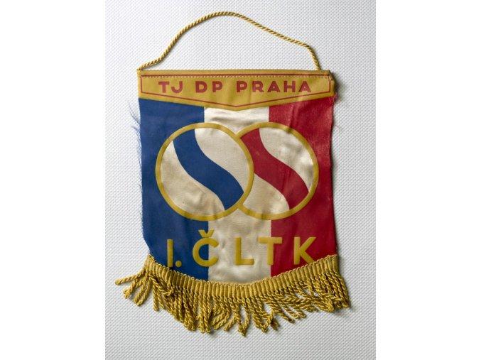 Vlajka klubová I.ČLTK TJ DP Praha