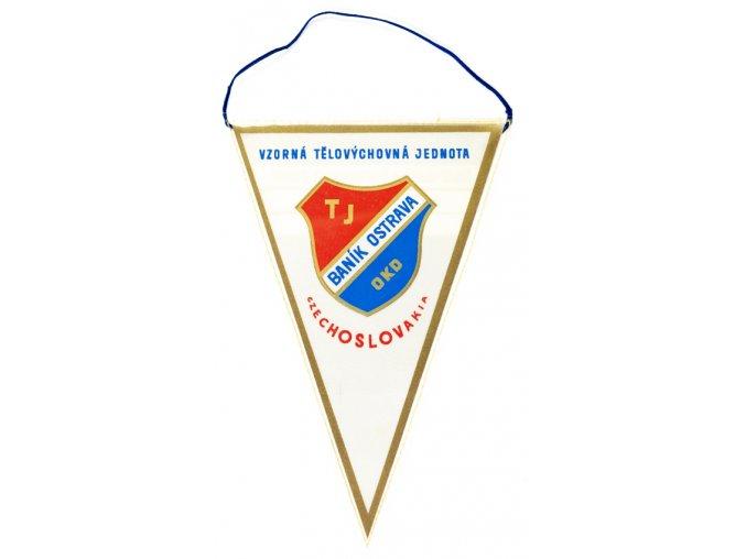 Vlajka Baník Ostrava (1) 1