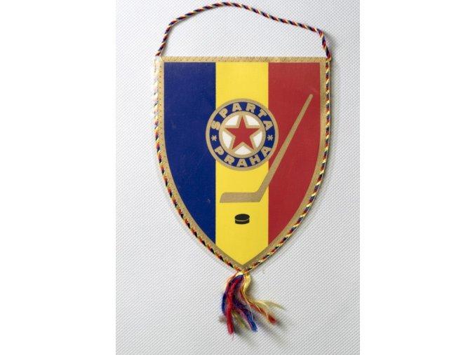 Klubová vlajka SPARTA PRAHA hokej