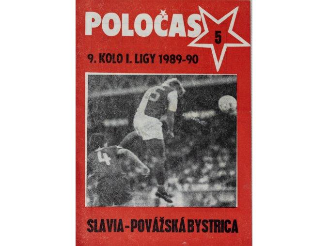 POLOČAS SLAVIA Praha vs. TJ Vítkovice, 198889