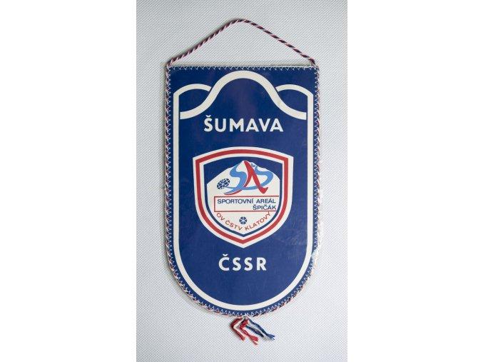 Vlajka klubová Sportovní areál Špičák 1