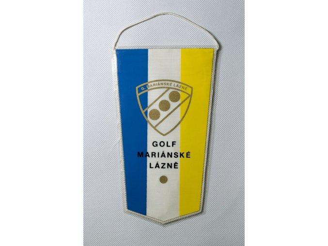 Klubová vlajka Golf Mariánské lázně