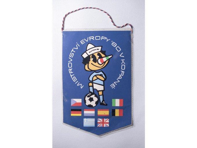 Klubová vlajka ME v kopané Italia 1980 1