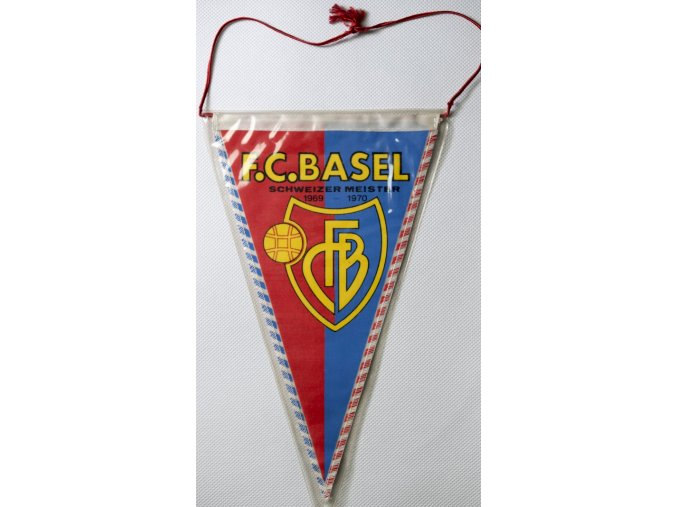 Vlajka klubová F.C. BASEL