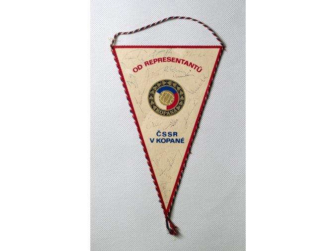 Klubová vlajka OD representantů ČSSR v kopané