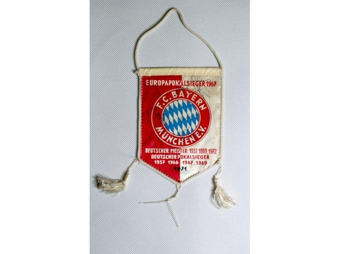 Klubová vlajka Bayern Munchen 1967