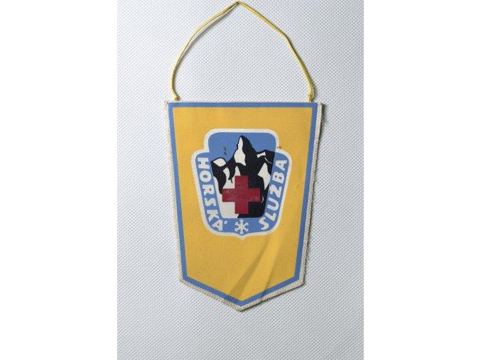 Klubová vlajka Horská služba