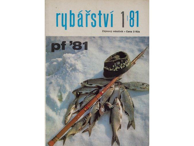 Časopis Rybářství, 11981