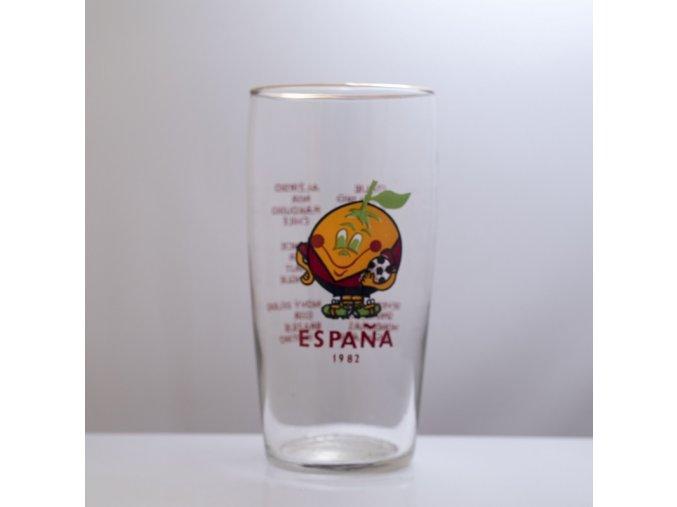 Sklenice pivní ESPANA 1982 0,5 l