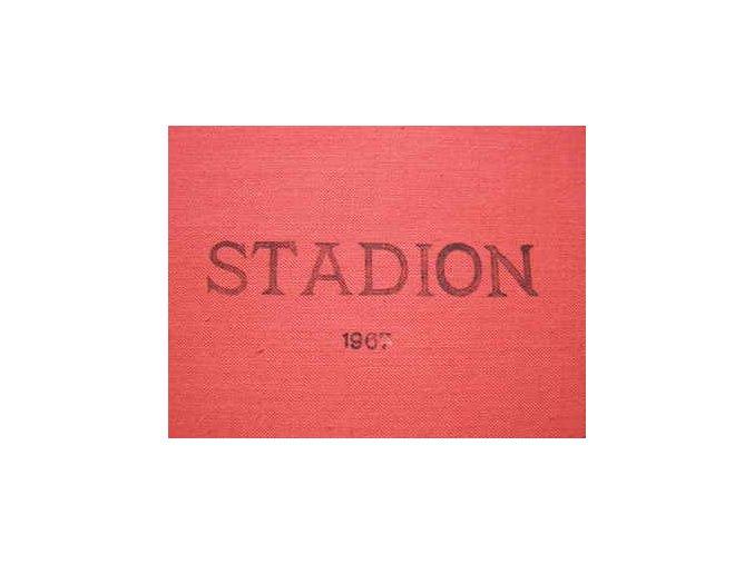 Kompletní svázaný časopis Stadion rok 1967 v tvrdé plátěnné vazbě