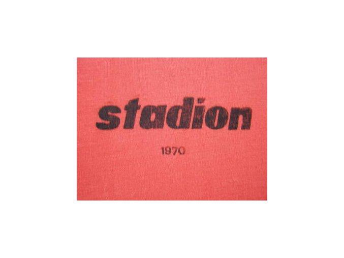 Kompletní svázaný časopis Stadion rok 1970 v tvrdé plátěnné vazbě