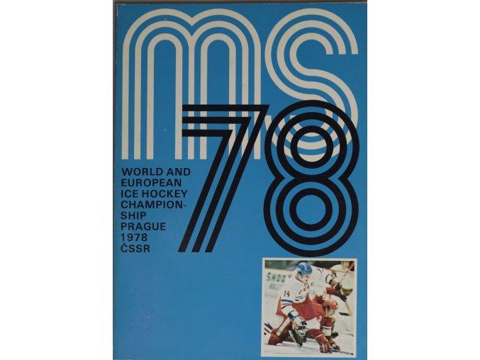 Program MS 1978 Hokej