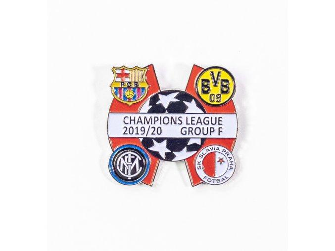 Odznak Sada odznaků , UEFA Champions league, Group F 201920, SILREDWHI