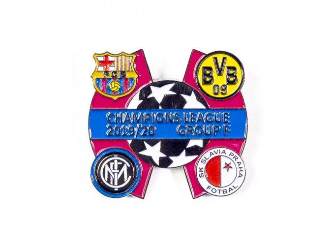Odznak Sada odznaků , UEFA Champions league, Group F 201920, SILREDBLU