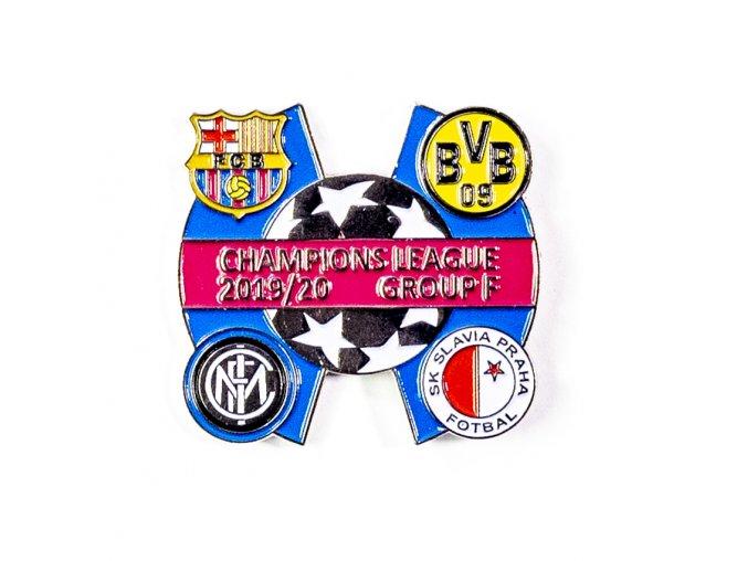 Odznak Sada odznaků , UEFA Champions league, Group F 201920, SILBLURED