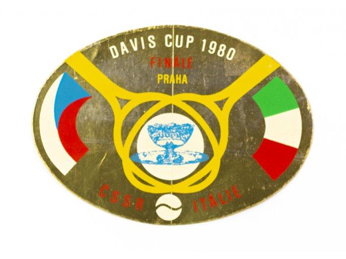 Samolepka 1980, Davis Cup Finále, ČSSR v. Itálie