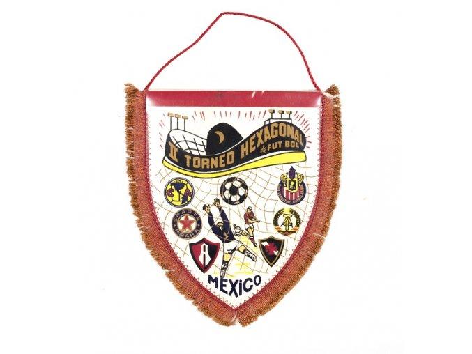 Vlajka Torneo Hexagonal, Sparta Praha, MexicoDSC 0114