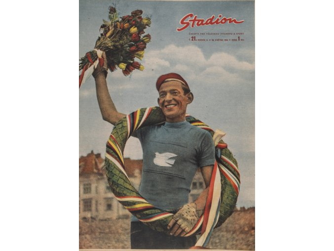 Časopis STADION, ročník II, 28.IV.1954, číslo 21