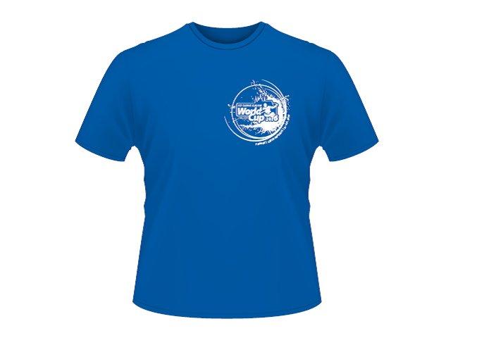 Tričko modrá Canoe 2016