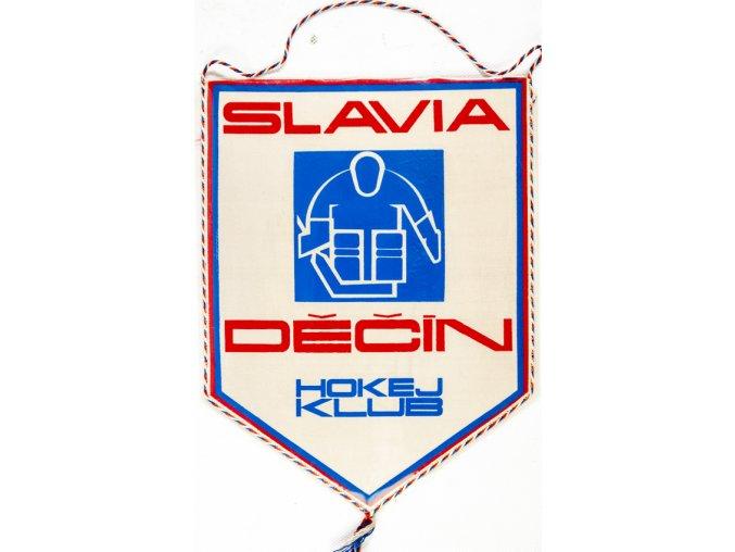 Klubová vlajka MAXI, Slavia Děčín