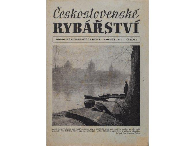Časopis Rybářství, 41957