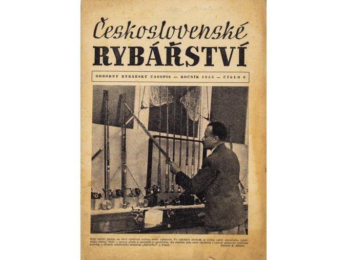 Časopis Československé Rybářství, 61955