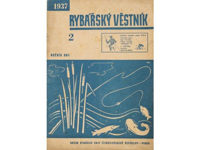 Časopis Rybářský věstník 21937