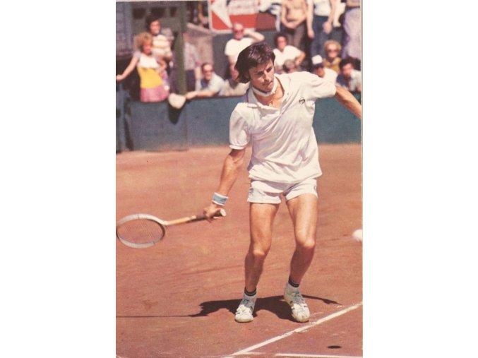 Pohlednice tenista Jiří Hřebec