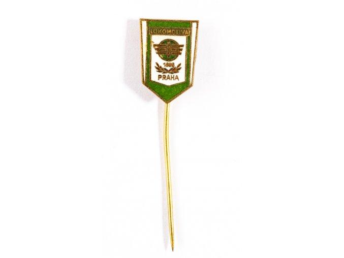 Odznak smalt Lokomotiva Praha