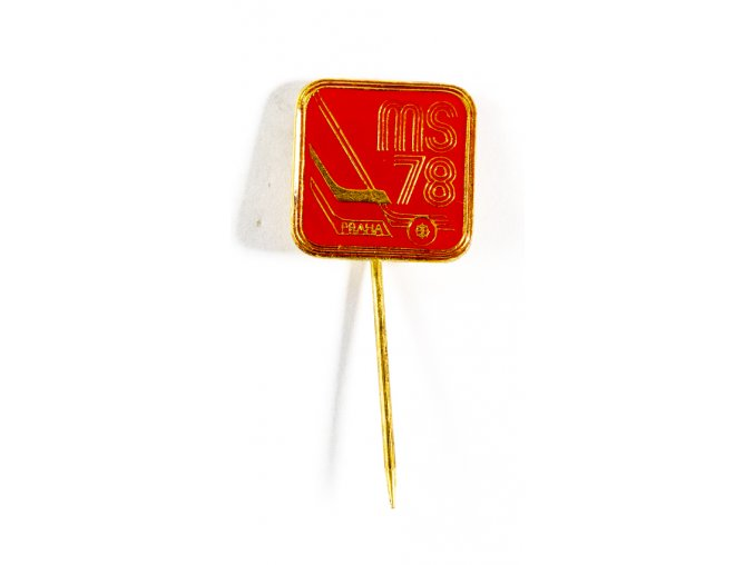 Odznak hokej, MS Praha, 1978, Red