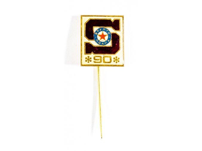 Odznak Sparta Praha, 90 let (1)