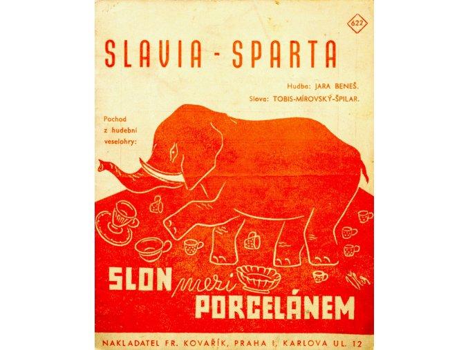 Hudební veselohra SPARTA SLAVIA