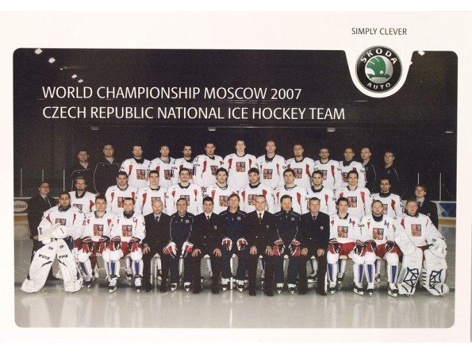 Foto týmu ČR WCH Moskva 2007