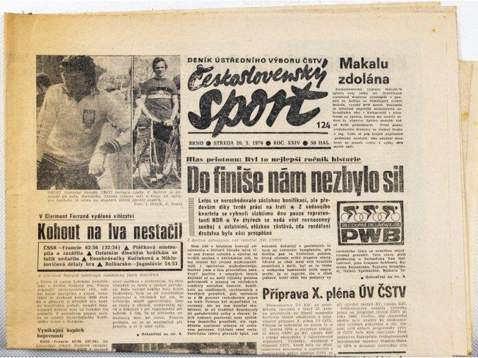 Noviny Československý sport, 1241978