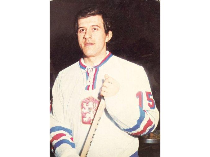 Pohlednice hokejista Julius Haas