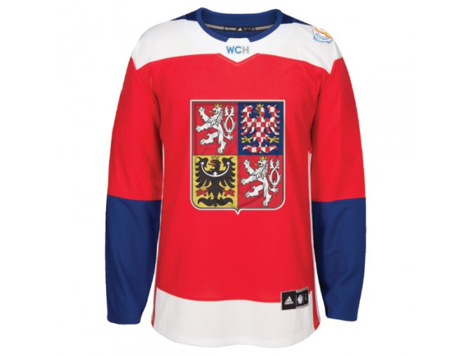 Team Czech Republic 2016 World Cup of Hockey Premier Home Jersey